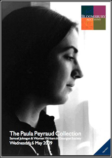 Bloomsbury Auctions: The Paul Peyraud Collection, Wednesday, 6 May 2009